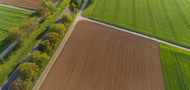 Veel grond verhandeld in eerste helft 2018