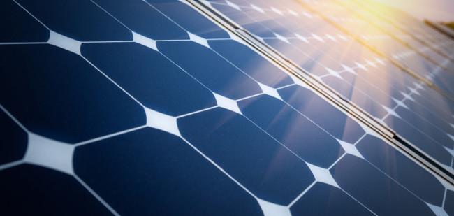 Direct investeringsruimte met zonne-energie