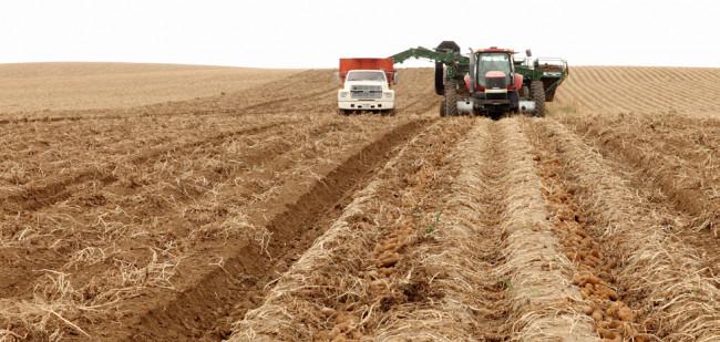 Amerikaanse boer ziet grond in waarde dalen