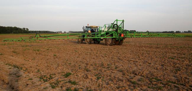 Frankrijk financiert boer die glyfosaat uitbant