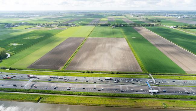 Actieplan tot het verdelen van grond stoppende boer